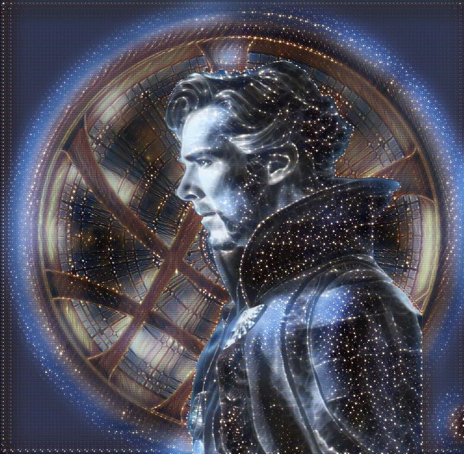 Doctor Strange Stars by VulcanSarek22