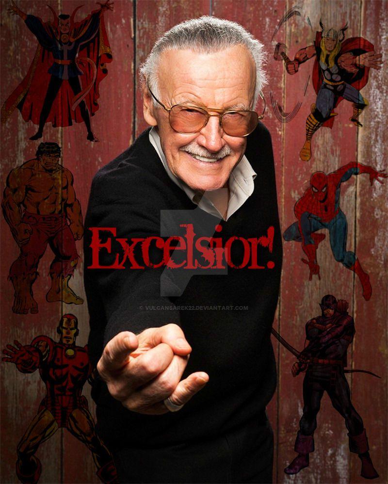 RIP Stan Lee by VulcanSarek22