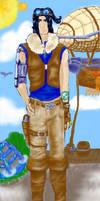 steampunk Kaidou by starchasr2737