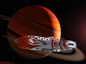 Commiss. 5, Dreadnaught class by Ywander