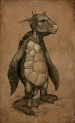 The Mock Turtle by Snugglestab