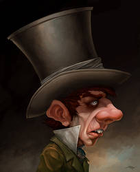 The Hatter by Snugglestab