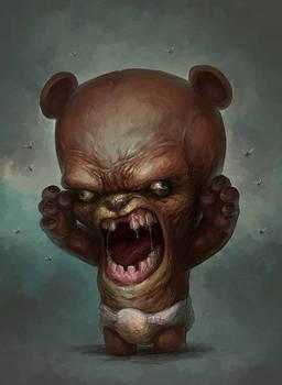 Tiniest Angriest Bear