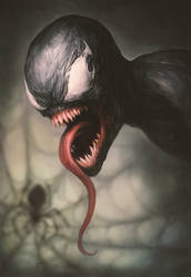 V is for Venom by Snugglestab