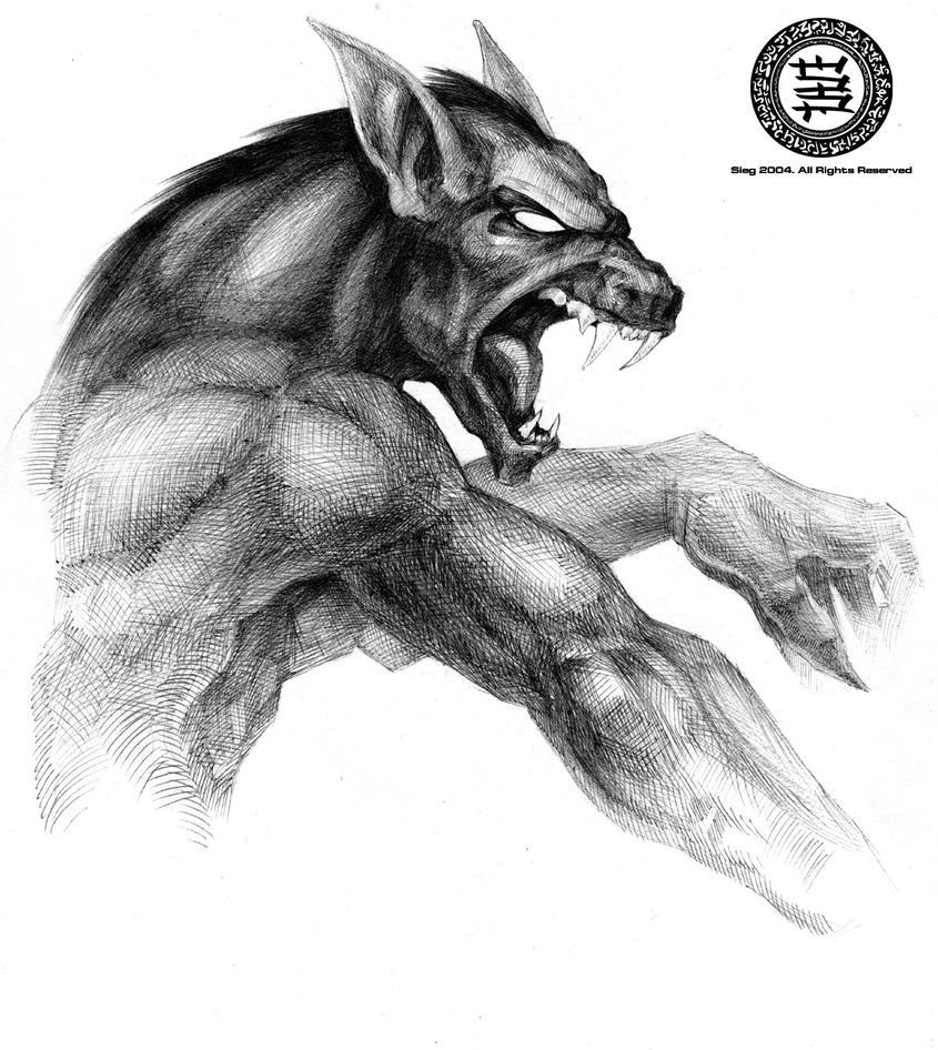 Werewolf by Zeeksie