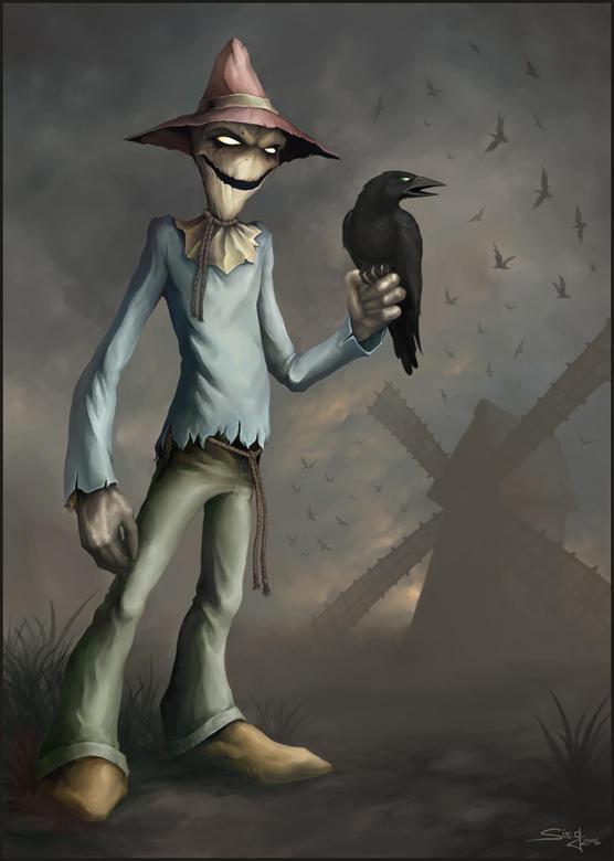 Scarecrow by Zeeksie on DeviantArt