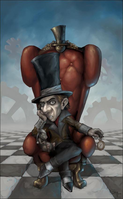 The Mad Hatter by Zeeksie