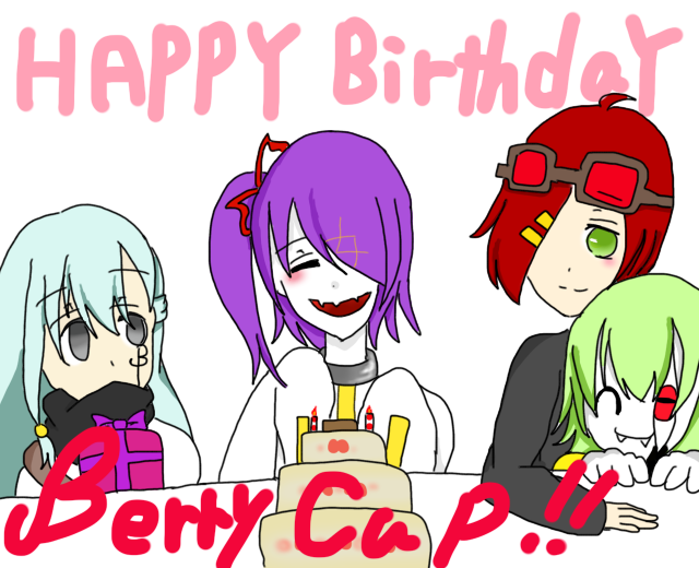 Happy Birthday Berrycup!! by RuzaBlood