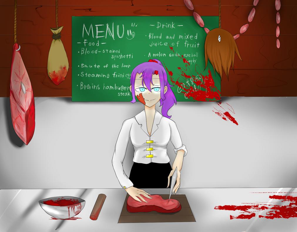 CreepypastaOC/Lumi juna /MY restaurant by RuzaBlood