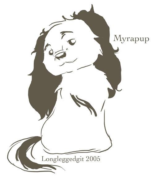 Myrapup by Longleggedgit