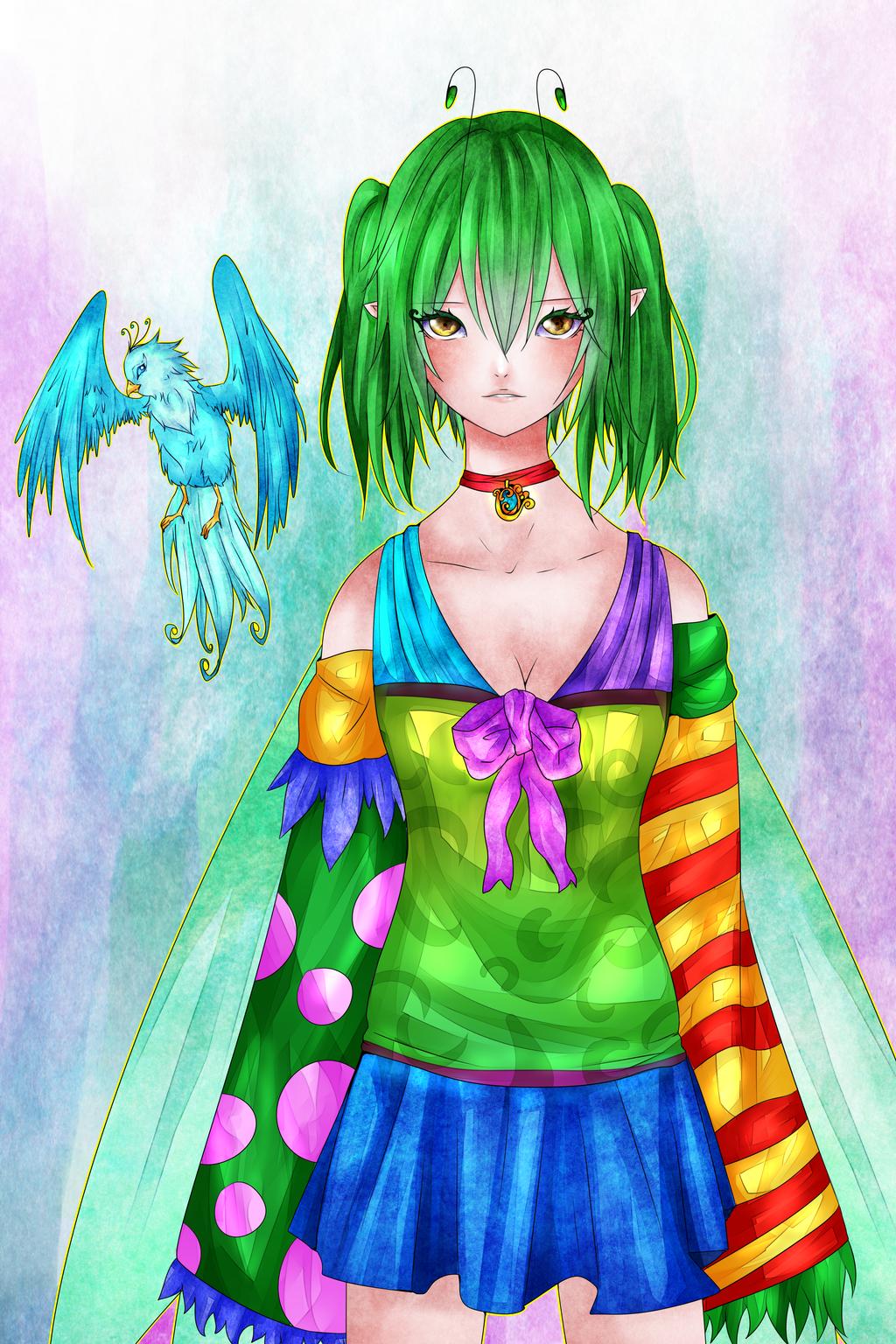 LunA: Younger!Sol by Dariuki