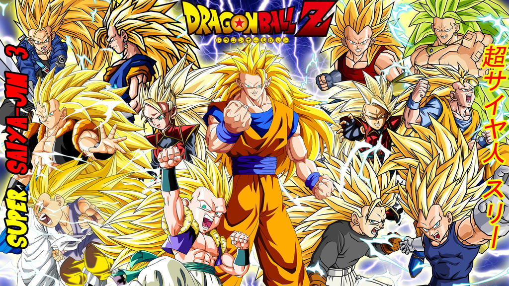 Dragon Ball Z Super Saiyajin 3 Wallpaper By Gonzalossj3