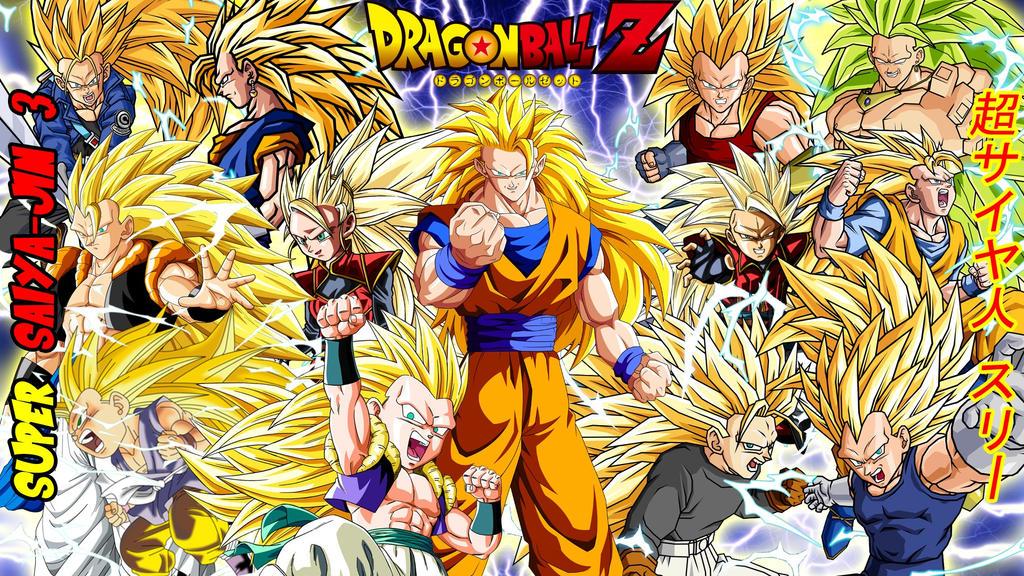 Dragon Ball Z Super Saiyajin 3 Wallpaper By Gonzalossj3 On