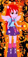 Twilight Sparkle EG Super Saiyajin God V2