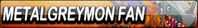 MetalGreymon Fan Button