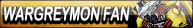 WarGreymon Fan Button by gonzalossj3