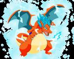 Goku-Charizard Super Saiyajin God SSJ2