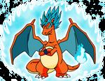 Goku-Charizard Super Saiyajin God SSJ
