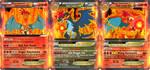 Goku-Charizard Super Saiyajin God EX Pokemon Card by gonzalossj3