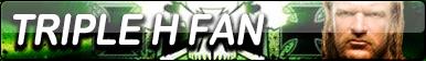 Triple H Fan Button by gonzalossj3