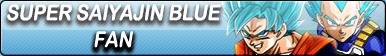 Super Saiyajin Blue Fan Button by gonzalossj3