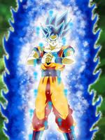 Goku Super Saiyajin God SS Evolution by gonzalossj3