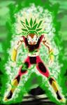 Kefla Legendary Super Saiyajin Rage
