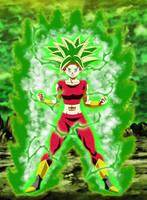 Kefla Legendary Super Saiyajin Rage V2 by gonzalossj3