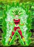 Kefla Legendary Super Saiyajin Rage V2