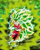 Kefla Super Saiyajin 3 V2 by gonzalossj3