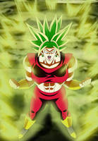 Kefla Legendary Super Saiyajin by gonzalossj3