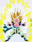 Gotenks Super Saiyajin 2 by gonzalossj3