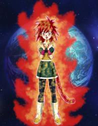 Gine Super Saiyajin God, The Saiyajin Holy Mother by gonzalossj3