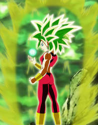 Kefla Mastered Legendary Super Saiyajin by gonzalossj3