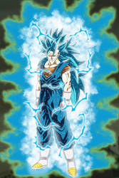 The Man, The Myth, The Legend Vegetto SSGSS3 by gonzalossj3