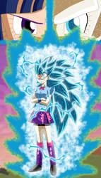 Ultimate Princess Warrior, Twilight Sparkle SSGSS3 by gonzalossj3