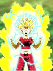 Kefla Super Saiyajin Rage by gonzalossj3