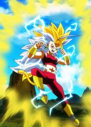 Kefla Super Saiyajin 8 by gonzalossj3