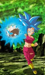 Kefla Perfected Super Saiyajin Blue by gonzalossj3