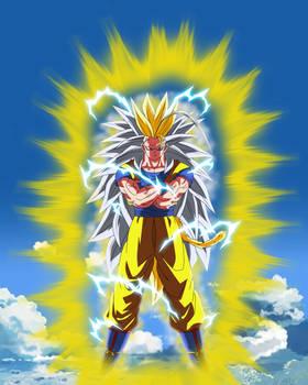 Goku Super Saiyajin 8