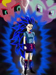Twilight Sparkle Super Saiyajin 7 by gonzalossj3