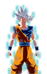 Goku Mastered Migatte no Gokui Manga render
