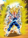 Vegeta Super Saiyajin 8 by gonzalossj3
