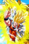 Goku Super Saiyajin 8 Dragon Fist by gonzalossj3