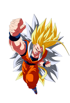 Goku Super Saiyajin 8 Render