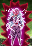 Goku-Black Super Saiyajin Rose 8 by gonzalossj3