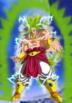 Broly Legendary Super Saiyajin 8 by gonzalossj3
