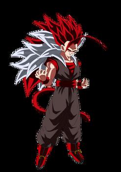 Evil Goku Super Saiyajin 8 Render