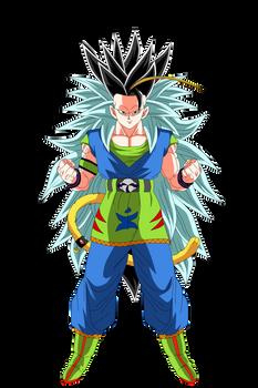 Goku Super Saiyajin Mystic 8 Render