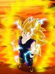 Teen Gohan Super Saiyajin 3 by gonzalossj3